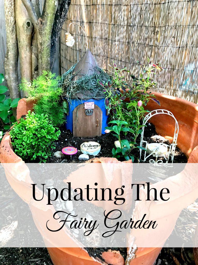 Updating the Fairy Garden