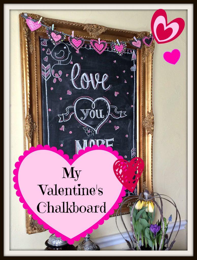 Valentine's Chalkboard