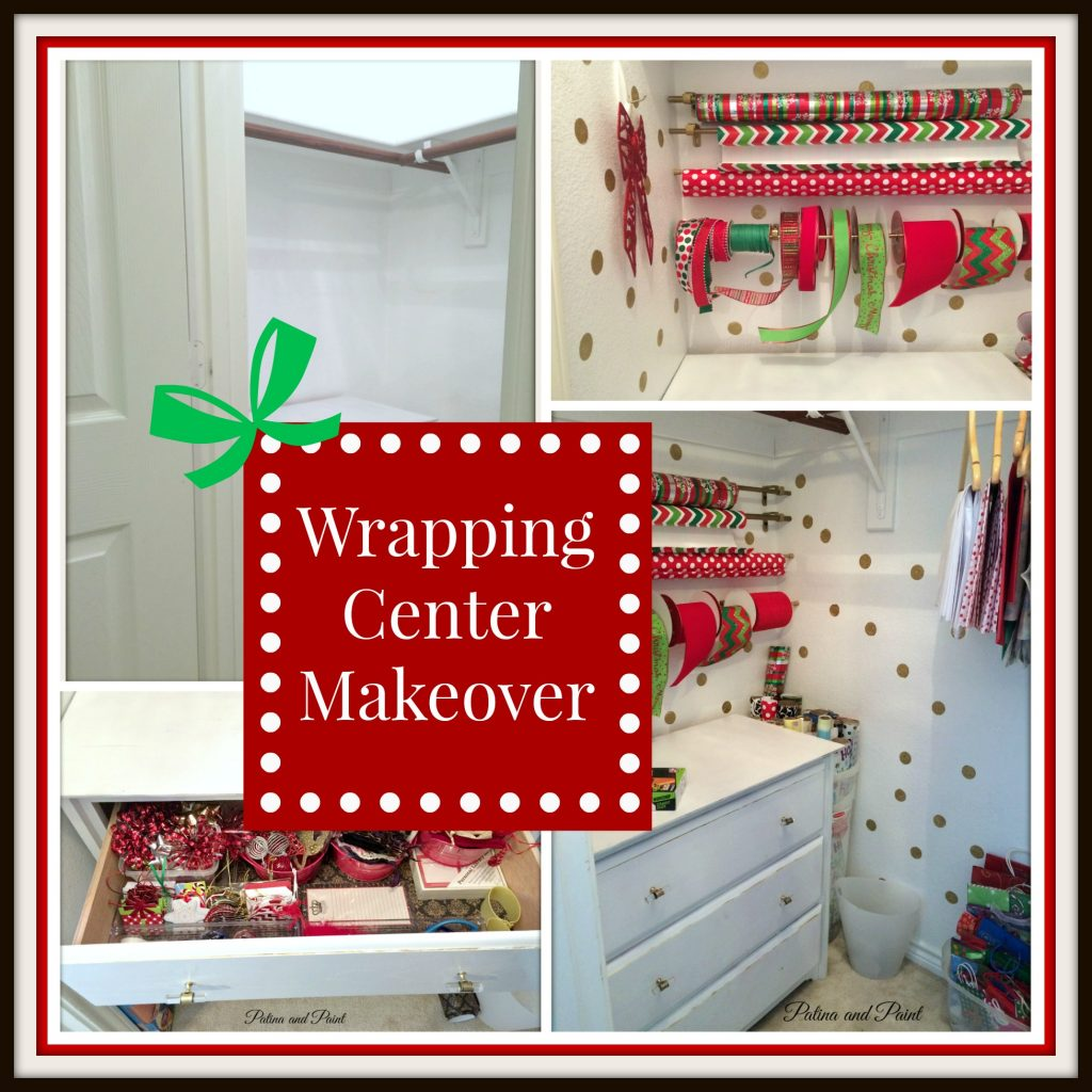 Wrapping Center Makeover