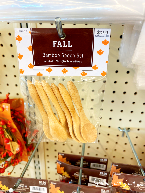 wooden bamboo spoons