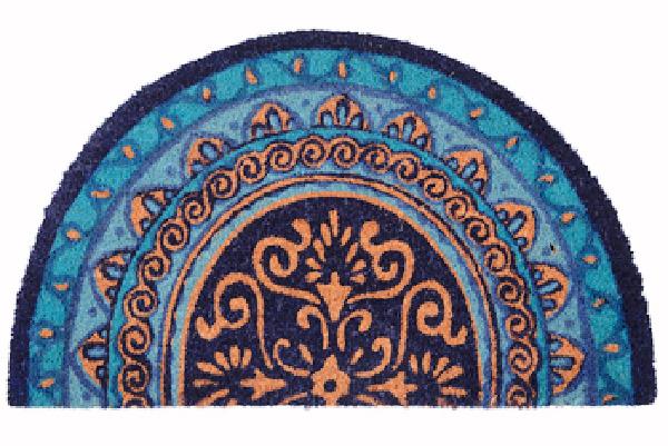 Blue Doormat