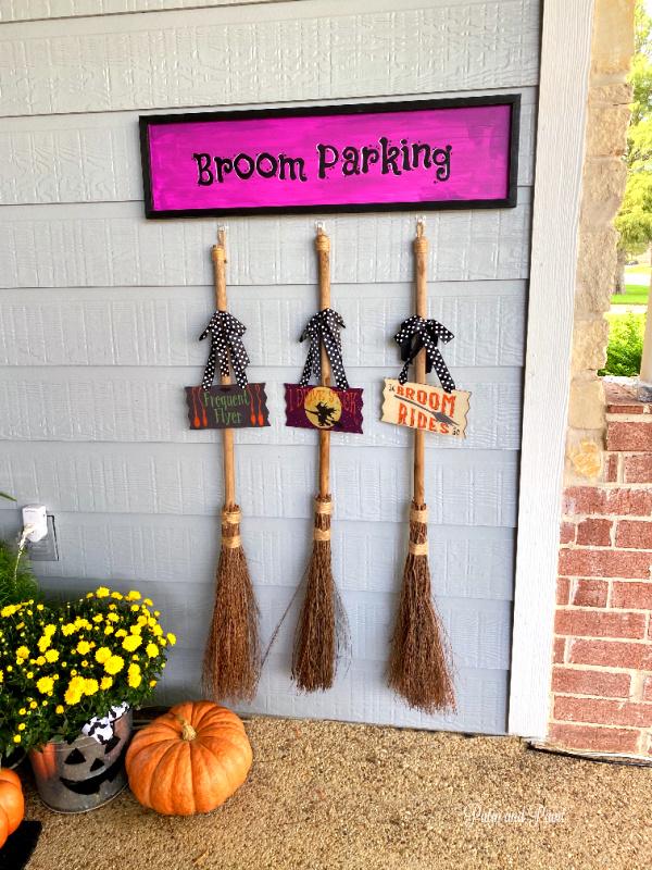 Broom Parking, brooms