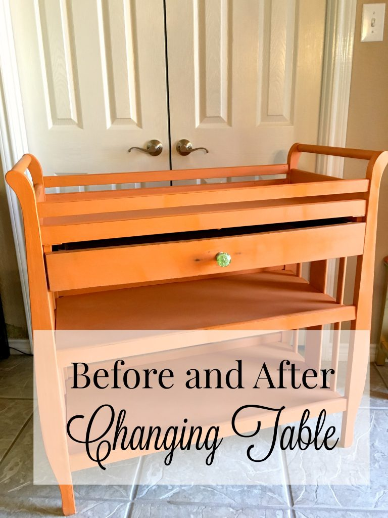 Before and After Changing Table