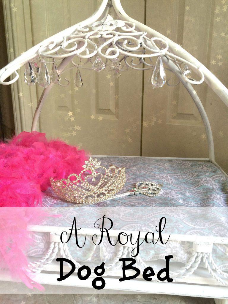A Royal Dog Bed
