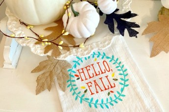 Fall Kitchen towel