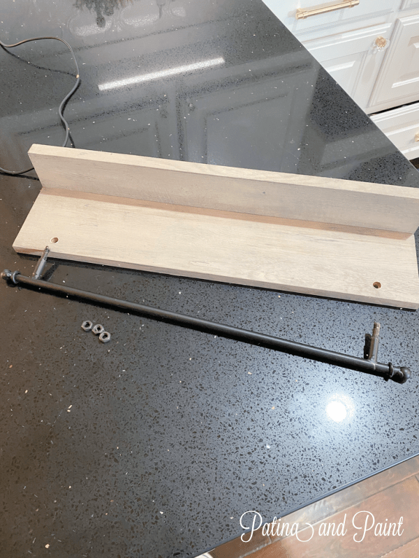 shelf and rail