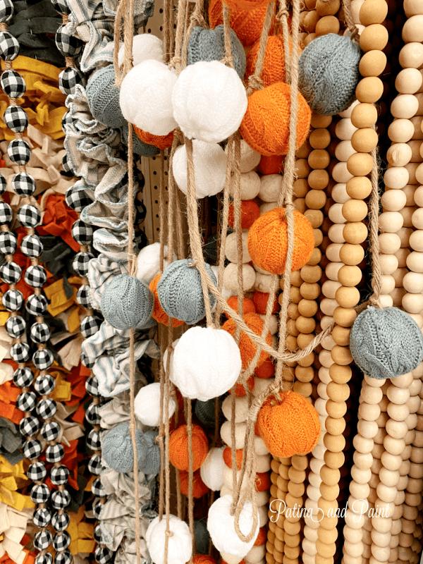 Sweater ball garland