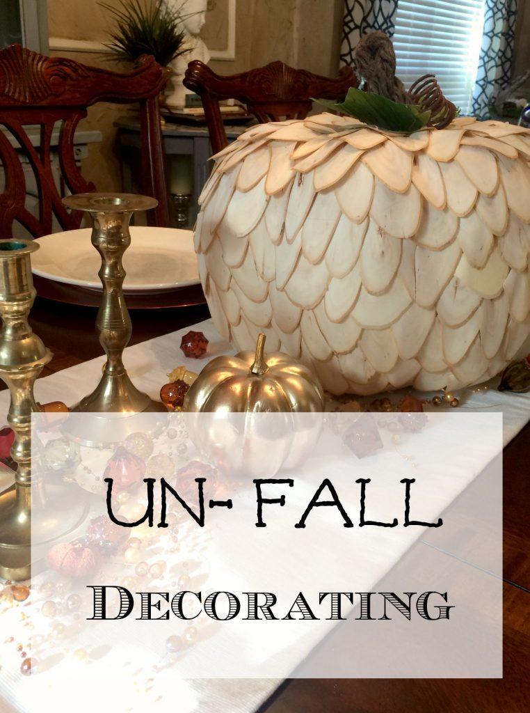 """Un-Fall"" Decorating"