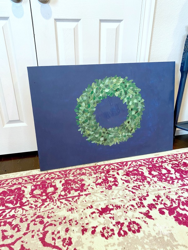 wreath artwork