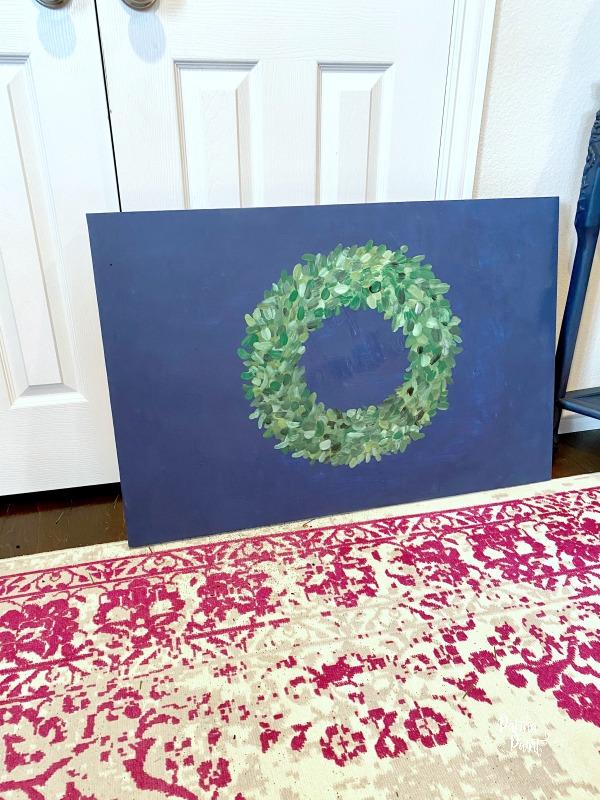 wreath artwork