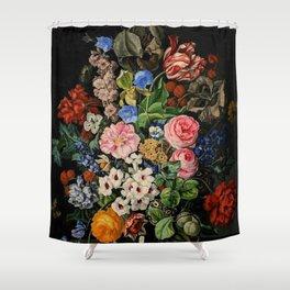 Shower curtain with Rachel Ruysch floral still life