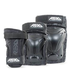 REKD Recreational Triple Pad Set Black