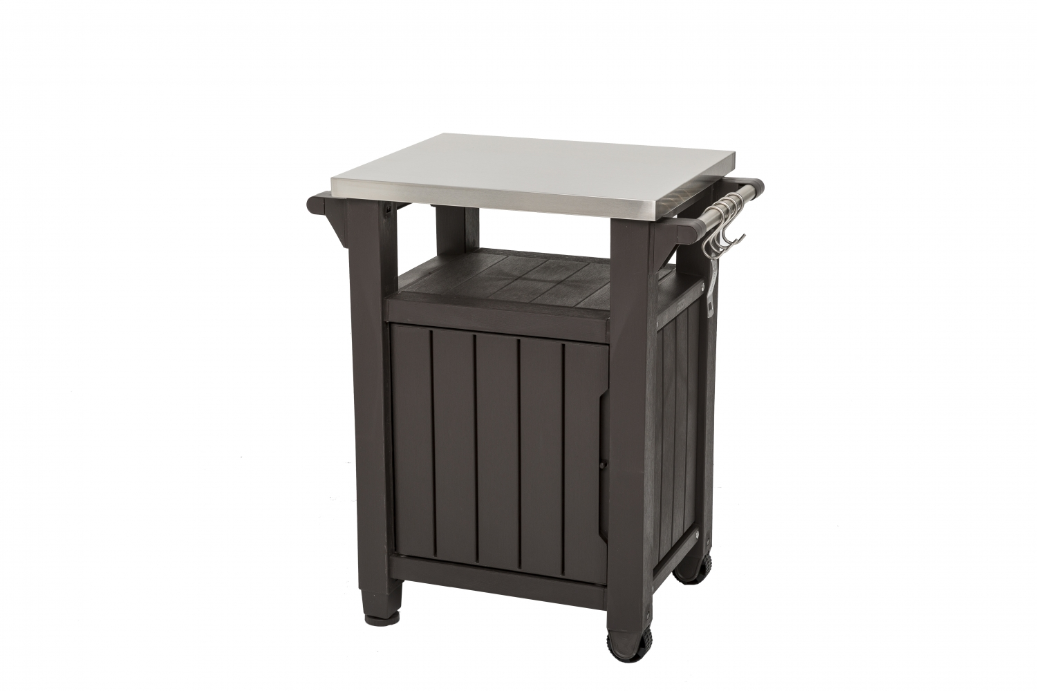 Bbq Table Bench With Stainless Steel Top Patio Life