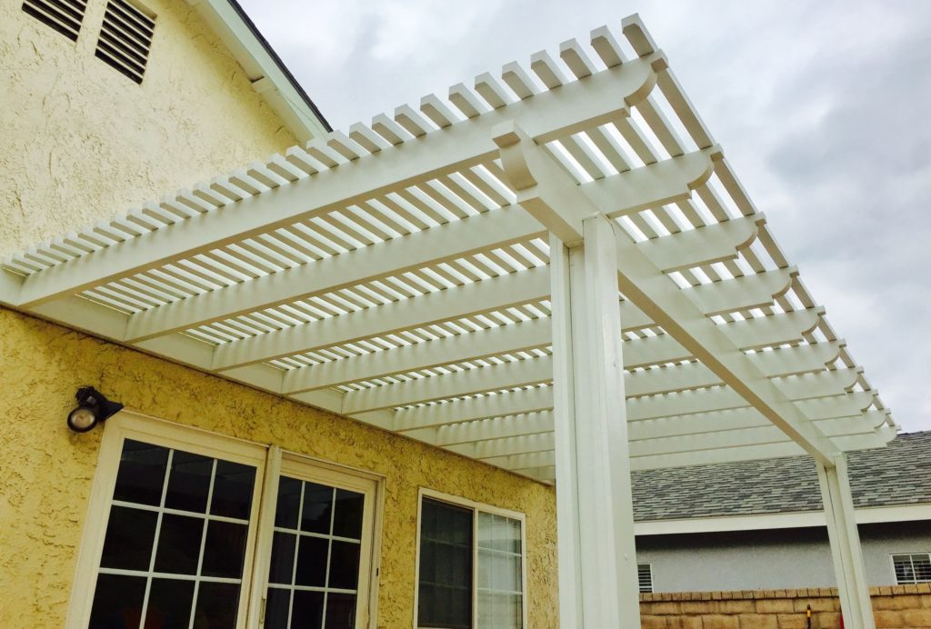 Alumawood Lattice Patio Cover Kit Patiocovered Com