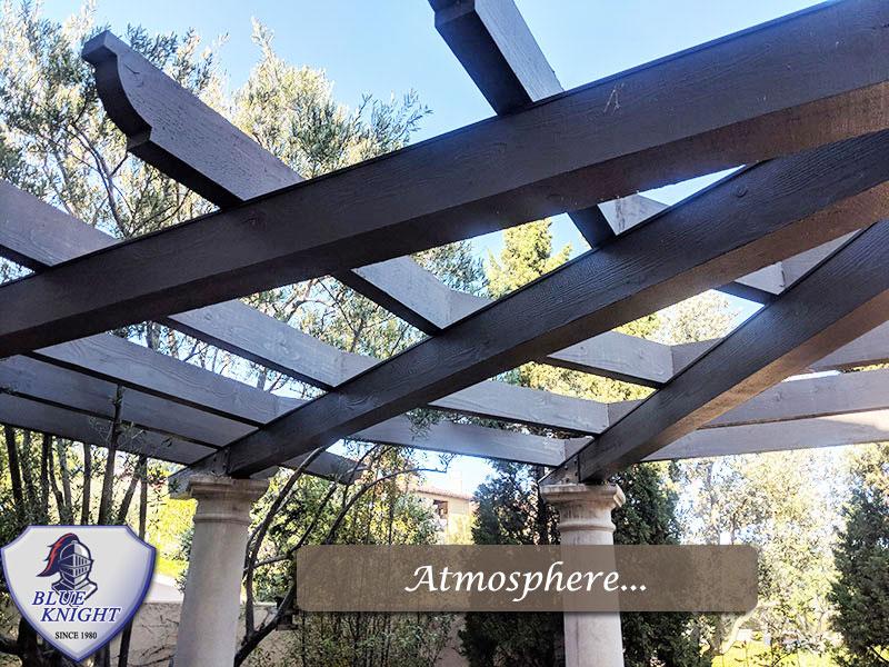 wood patio covers pergolas wood