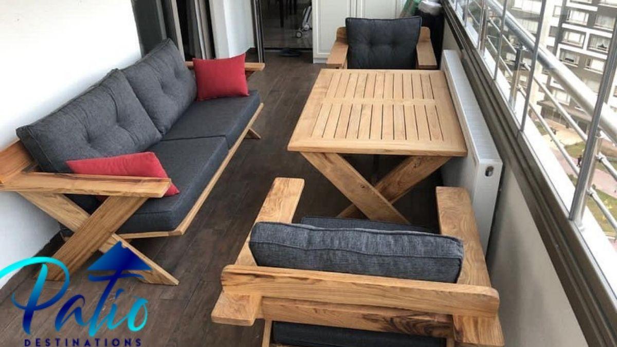 small apartment balcony furniture