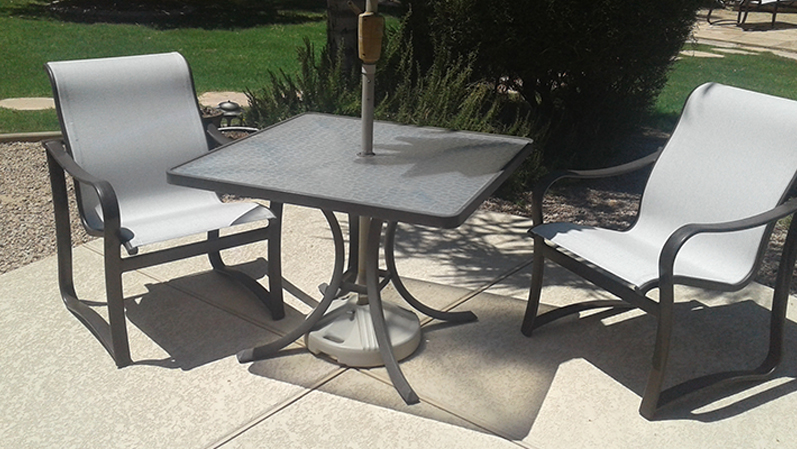 sling replacement patio furniture rescue
