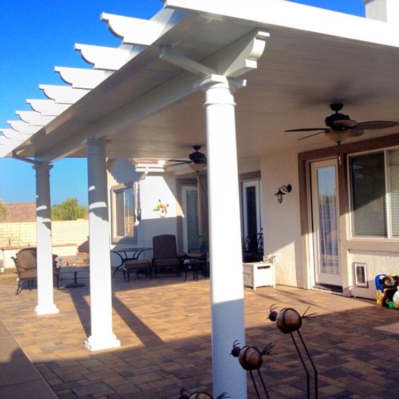types of patio covers lattice patio