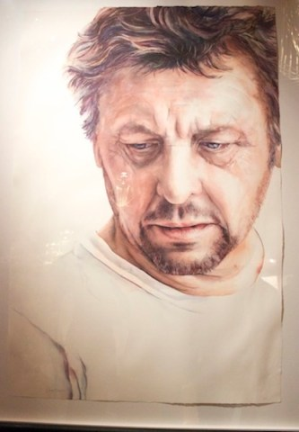 Matthew Harding portrait