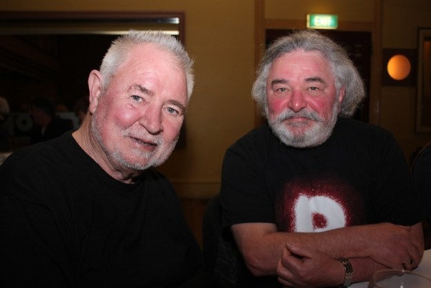 Les Twentyman AO and long time Ian from Off Beat Music