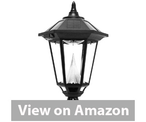 Gama Sonic Windsor Solar Outdoor LED Light Fixture Review