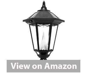 Best Outdoor Solar Lights - Gama Sonic Windsor Solar Outdoor LED Light Fixture Review