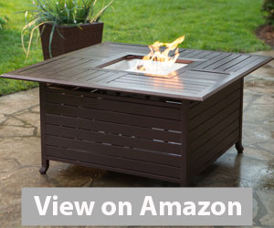 Red Ember Rectangle Gas Fire Pit Review