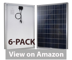 HQST 12 Volt 6 Pieces Solar Panel Review