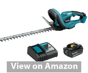 Best Hedge Trimmer - Makita XHU02M1 Hedge Trimmer Kit Review