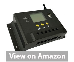 Best Solar Charger Controller - ZHC Solar Charge Controller 80A Solar Panel Charging Discharge Regulator Review