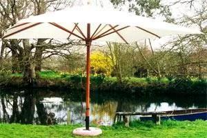 tradewinds classic 2x3m rectangle patio umbrella