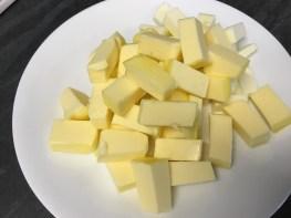 קוביות חמאה קרות