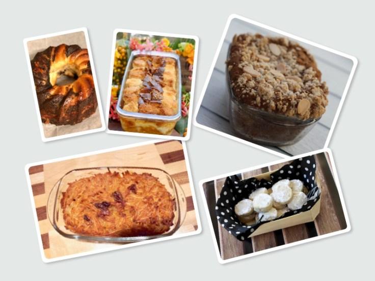 עוגות ועוגיות ליום כיפור