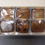 パウンドケーキを箱詰めした状態