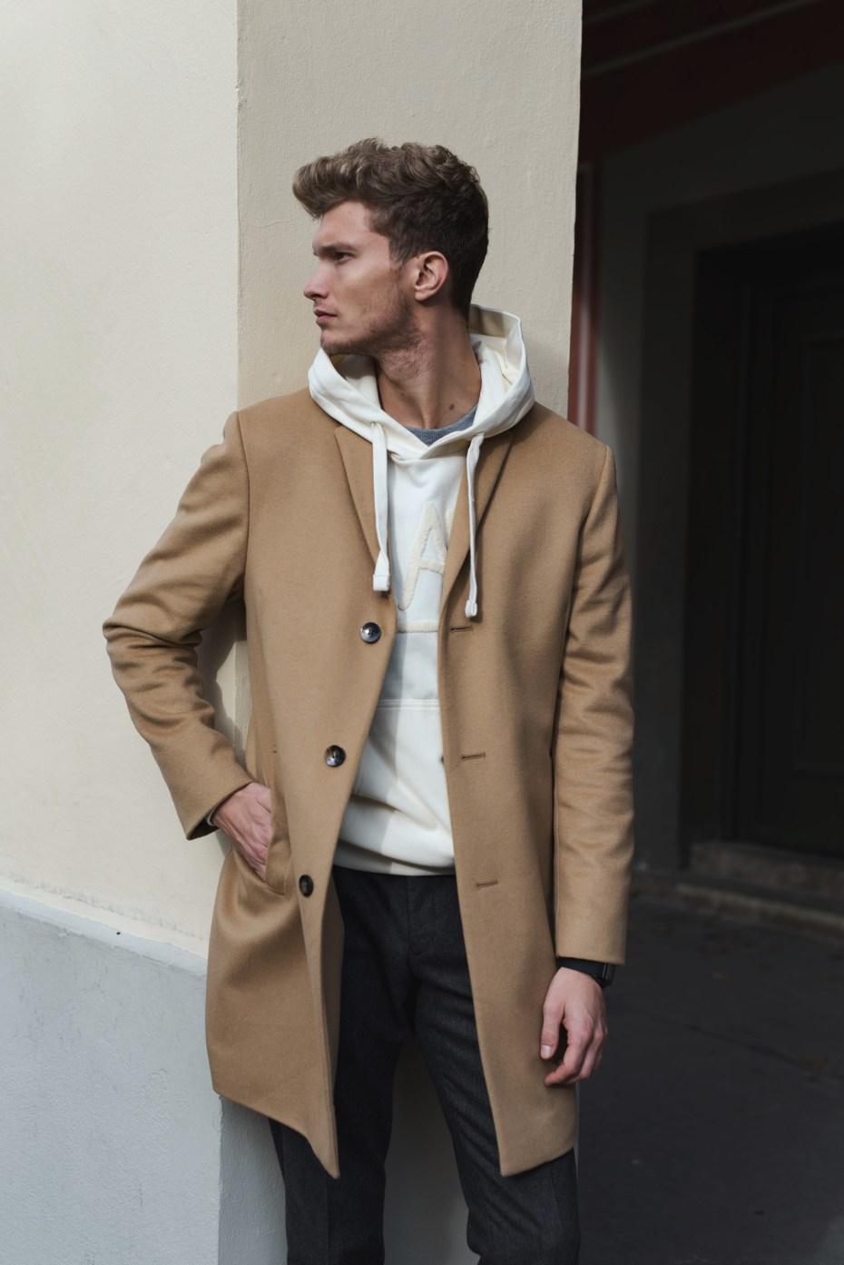 patkahlo männer fashion blog der perfekte camel coat von calvin klein