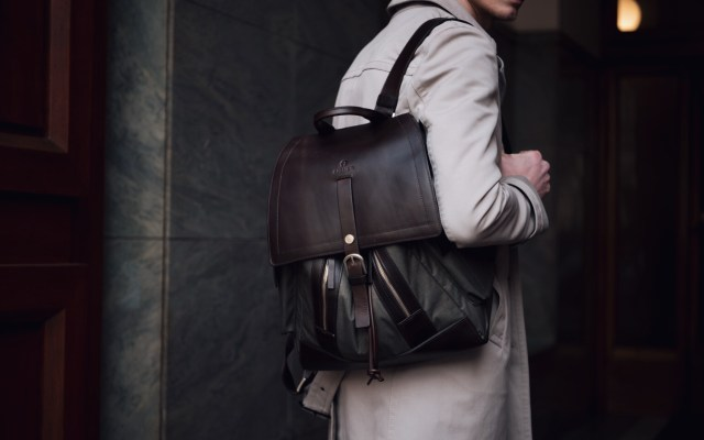 Trenchcoat & Aigner Backpack | Milan