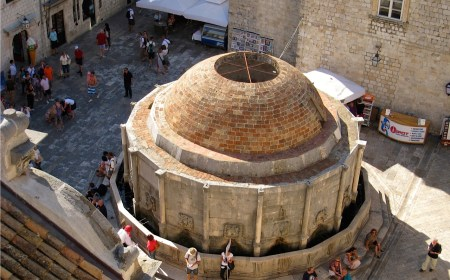 Onofrio's Big Fountain Dubrovnik Croatia