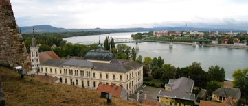 Esztergom Basilica, Hungary on this side and Slovakia across the Danube Bend