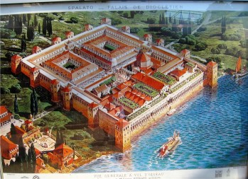 Diocletian's Palace as it originally was