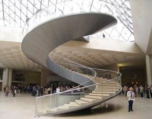 I.M.Pei's staircase