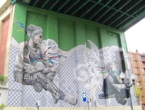 Mural Under Puente de la Salve
