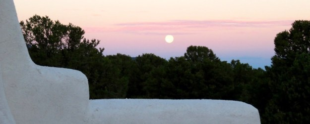 Moonrise Over Taos