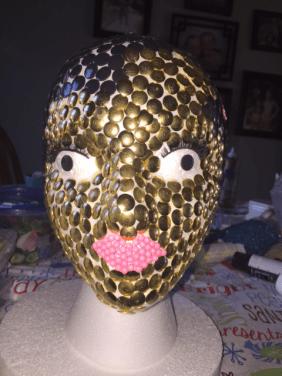 """Freaky Mannequin Head"""
