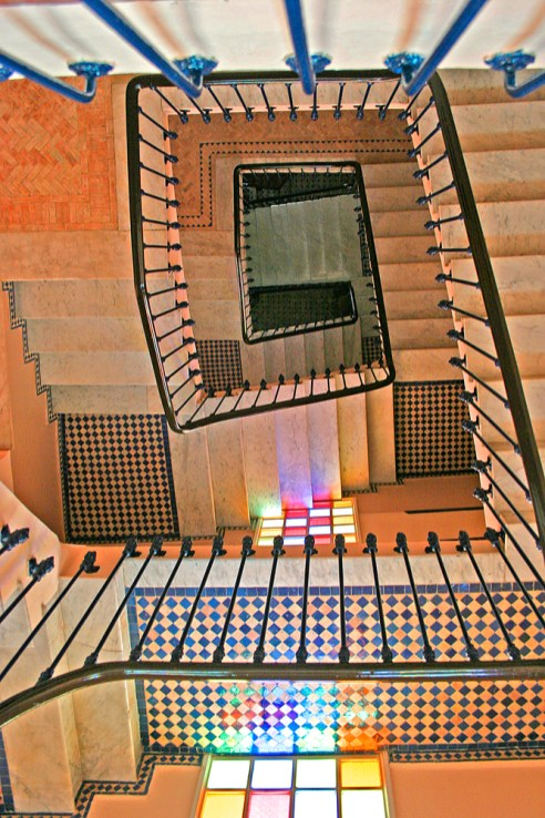 Hotel Continental Stairs Tangiers