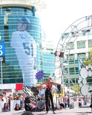 Performer, Bumbershoot Festival Seattle