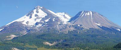 Mt Shasta From Northwest