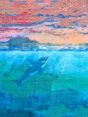 Orcas on Brick ll,Olympia, WA