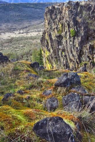 Basalt Cliffs & Valley, Lower Table Rock