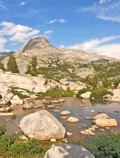 Pond & Peak, Wind River Range Wyoming