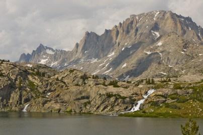 Wind River Range Wyoming, Island Lake, Titcomb Basin Beyond